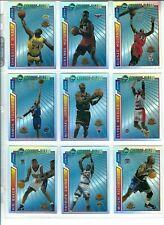 1996-97 Topps Mystery Finest Michael Jordan Bordered Refractor Complete Set 1-22