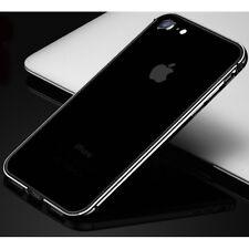 Flexible Aluminum Metal Bumper Frame Rug Rubber Cover for iPhone X 8 7 Plus Case