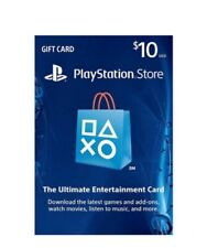 PSN $10 Playstation Network $10 USD US Store Card , Email Delivery