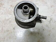 84 Harley Davidson XLH 1000 Ironhead Sportster engine oil filter mount bracket