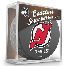 Official National Hockey League Licensed New Jersey Devils Coaster Set