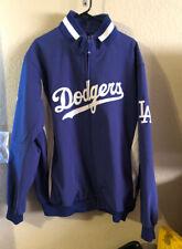 LA Dodgers Majestic Size 2XL Royal On-Field Therma Base Full-Zip Jacket