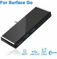 Microsoft Surface Go Docking Station USB C Dock USB 3.0x2 4K HDMI Lecteur SD