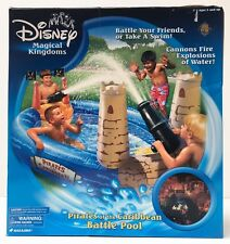 Disney PIRATES OF THE CARIBBEAN BATTLE POOL with Water Cannons, NEW! VERY RARE!!