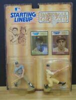 Baseball Greats Mickey Mantle Joe DiMaggio Starting Lineup Kenner 062719DBT2