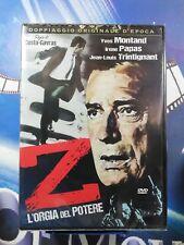 Z - L'Orgia Del Potere DVD A & R *nuovo
