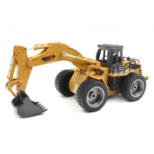Remote Control Excavator Digger Construction Tractor RC Truck Lorry Toy Gift