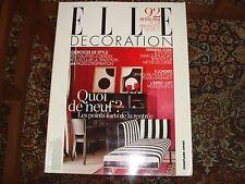 Elle Decoration No 184 French Edition September 2009 Interior Design Magazine
