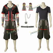Kingdom Hearts 3 Sora Uomini Costume Cosplay Comic Con Vestito