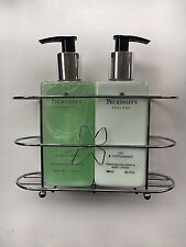 PECKSNIFF'S TWIN SET HAND WASH 300ml HAND & BODY LOTION 300ml LILY & COTTONSEED