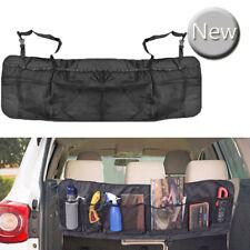 Car Seat Back Mesh Storage Bag Boot Pocket Organiser Tidy Hanging Pouch Holder