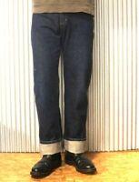 90s Wrangler Selvedge denim jeans Made in JAPAN Offset belt loop Classic fit lvc