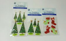 Scrapbooking Christmas Sandylion Essentials Stickers 3 pack