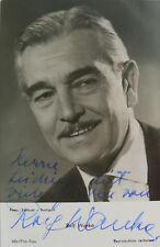 Rolf Wanka (1901-1981) Schauspieler - original-signiertes Foto
