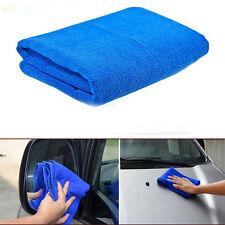 2 Pcs Blue Microfiber Towel Car Cleaning Cloth 70 X 30CM Unique And Original