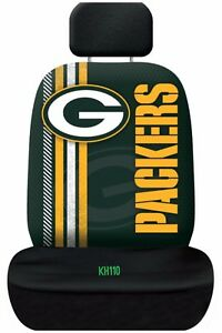 NFL Green Bay Packers Printed Logo Car Seat Cover Officially Licensed