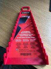 Snap On Spanner Rack Holds 15 In Red NEW