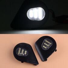 2X LED Side Mirror Puddle Lights Lamp Fit For Dodge Ram 1500 2500 3500 4500 5500