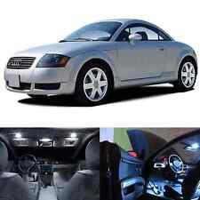 LED White Lights Interior Package Kit For Audi TT 2000-2006