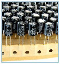 (12pcs) 220uf 35v Rubycon Electrolytic Capacitor 35v220uf ZLH Low impedance