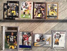 Santonio Holmes Football Cards ~ Pittsburgh Steelers NFL ~ Rookie, Jersey Swatch