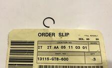 Fermo Spinotto - Clip, Piston Pin  - Honda  PK50 NOS: 13381-GT8-600