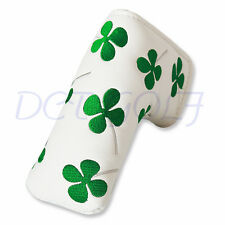 Shamrock Golf Putter Cover Headcover For PXG Taylormade Scotty Cameron Odyssey
