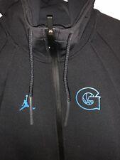 New Men Nike Tech Jordan Jumpman Georgetown Hoyas Hoodie Size XLT Rare