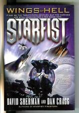 Starfist #13: Wings Of Hell, Del Rey military sci-fi Marines hardcover in Dj