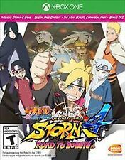 Naruto Shippuden Ultimate Ninja Storm 4 Road to Boruto Microsoft Xbox One Sealed