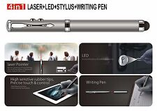 4-in-1 Laser Pointer+Led Light+Write Pen+Stylus for Iphone SamSung Galaxy Tablet
