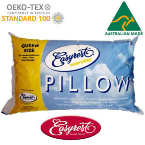 Everyday Queen Size Pillow by Easyrest | Standard Size  | Made in Australia