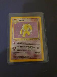 Hypno Holo 8/62 Pokemon Card - Fossil Set Rare Holo 1999 WOTC NM