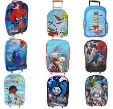 Disney Boy & Girl School Travel Trolley Roller Wheeled Bag Brand New Gift