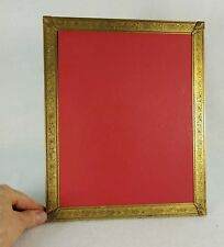 """Antique Aesthetic Movement Bronze Picture Frame 8"""" x 10"""""""