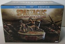 Spartacus: The Complete Series Limited Edition Blu-ray NEW, no digital copy.