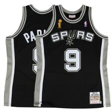 pretty nice d3ed8 61775 2002-03 Tony Parker NBA San Antonio Spurs Mitchell   Ness Authentic Away  Jersey