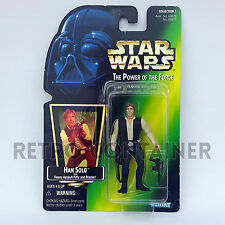STAR WARS Kenner Hasbro Action Figure - POTF POTF2 - Han Solo Holographic Image