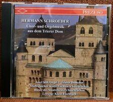 CD Hermann Schroeder Chor- und Orgelmusik aus dem Trierer Dom Klais IV/68 RAR