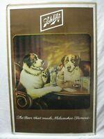 SCHLITZ BEER AD PRINT VINTAGE POSTER BAR GARAGE CNG1047