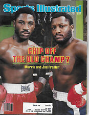 SPORTS ILLUSTRATED - MARVIS FRAZIER AND JOE FRAZIER