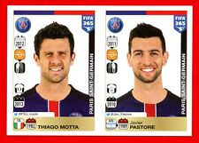FIFA 365 2015-16 PANINI 2016 -Figurina Stiker- n. 440/441 - PSG -New