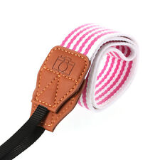 Universal Camera Shoulder Neck Belt Strap Rose Stripe For Olympus Canon Sony NEW