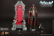 =MIB= Hot Toys Space Pirate Captain Harlock with Throne of Arcadia MMS223