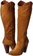 FRYE Women's Madeline Tall Khaki Wester Boot 7.5B NW/OB