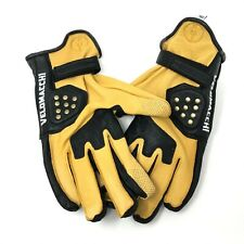 NEW Velomacchi SPEEDWAY Motorcycle Gloves MENS XXL Deerskin Leather