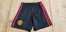 Genuine Official Manchester United 2016/2017 Away Goalkeeper Shorts Age 7-8