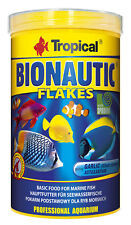 Tropical Bionautic Flakes 1000 ML Fish Food Flake Food Meerwasserfische