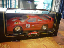 Carrera Exclusiv/124 Ferrari F40 guter gebrauchter.!!