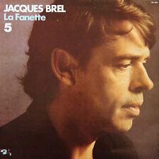 JACQUES BREL La Fanette N° 5 FR Press Barclay 90 265 1978 LP